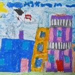 Jagoda Rachuba 8 lat - Podróż bociana Nana