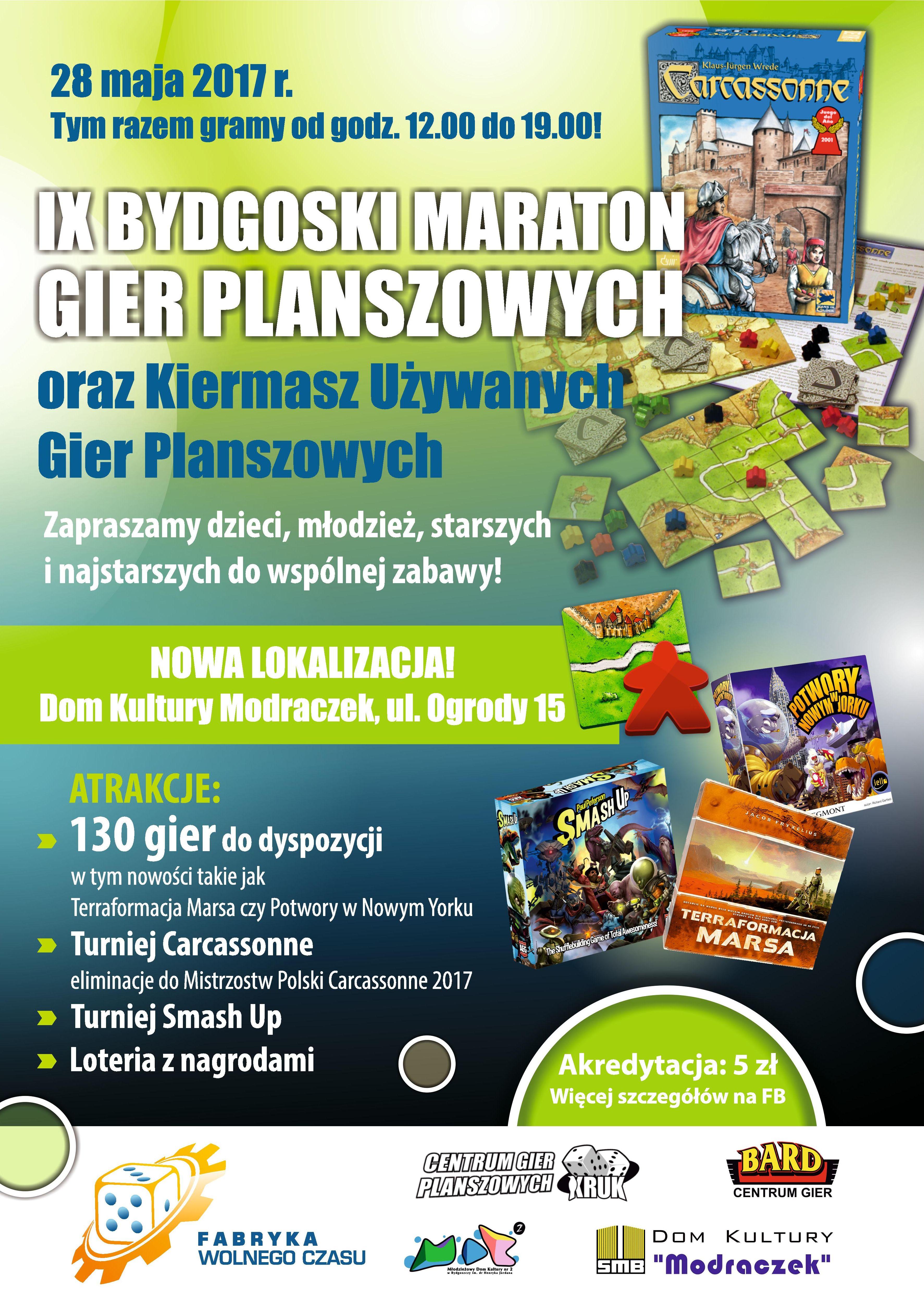 IX Maraton - plakat
