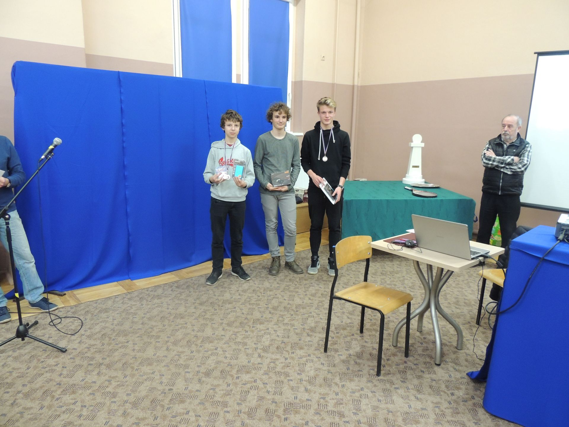 Zwycięzcy szachownic
