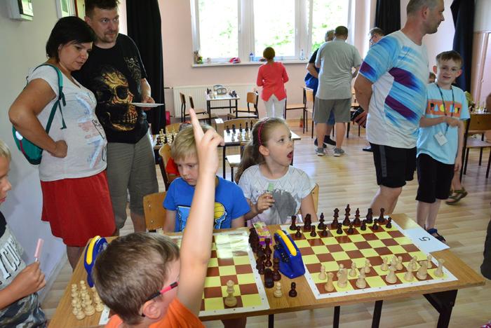 fot. Krzysztof Golec / rodzinne potyczki szachowe