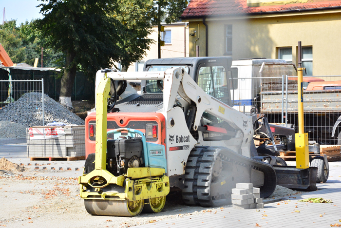 fot. Krzysztof Golec, boisko wielofunkcyjne w budowie
